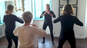photo atelier collectif de pratique du Qi Gong